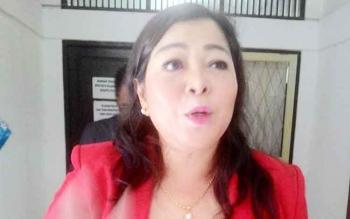 Nenie A Lambung, Ketua Pansus II DPRD Kota Palangka Raya.