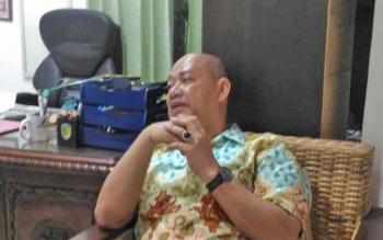 Rusliansyah, ketua Komisi C DPRD Kota Palangka Raya.
