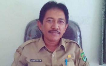 Kabid Pemerintahan Desa Dinas PMDes Kabupaten Kapuas, John Pita Kadang.