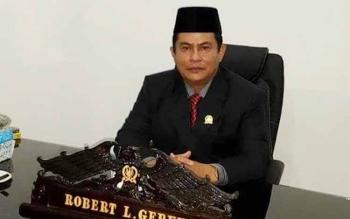 Wakil Ketua I DPRD Kabupaten Kapuas Robert Linu Gerung.