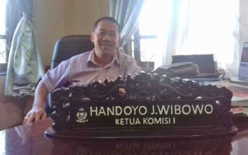 Ketua Komisi I DPRD Kotim, Handoyo J Wibowo.