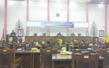 Tim Banggar DPRD Sampaikan Hasil Pembahasan Raperda Pertanggungjawaban APBD