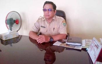 Kepala Badan Penanggulangan Bencana Daerah Kabupaten Barito Selatan Mandiodi.