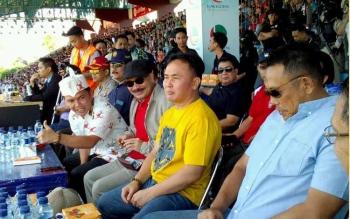 Gubernur Kalteng Saksikan Langsung Laga Kalteng Putra vs Persik Kediri