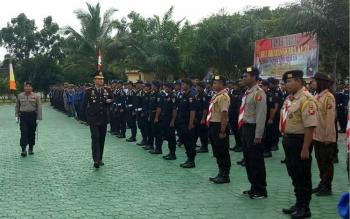 Upacara HUT Bhayangkara di Polres Seruyan Berlangsung Khidmat