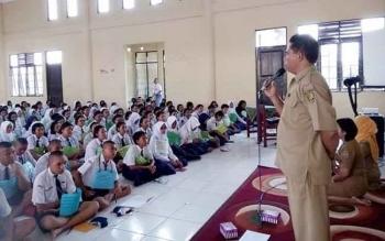 SMAN 5 Palangka Raya Mulai Masa Pengenalan Lingkungan Sekolah