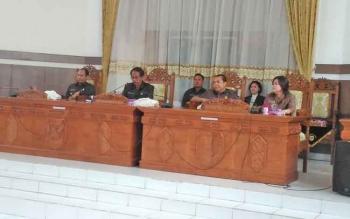 Ketua DPRD Pimpin Paripurna Penyampaian Pidato Raperda LKPj Bupati 2016