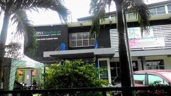 Kantor BPJS Kesehatan Cabang Palangka Raya.