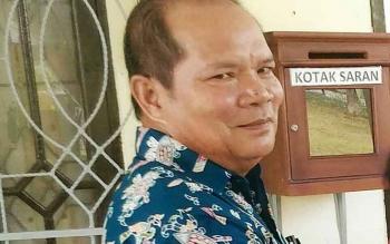 Kepala Dinas Pertanian dan Ketahanan Pangan Kabupaten Gunung Mas Kardinal.