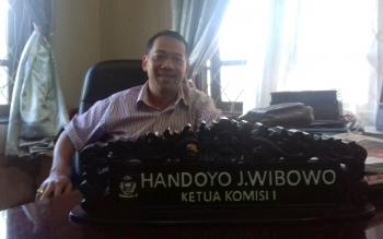 Anggota Komisi I DPRD Kotim, Handoyo J Wibowo.