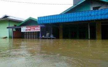 Banjir di Katingan Terus Meluas