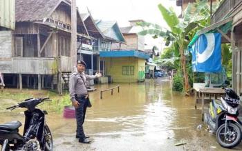 Polsek Lahei Imbau Warga Waspadai Musibah Banjir
