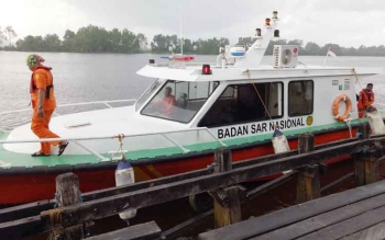Tim Gabungan Sasar Area Lima Mil Laut Cari Arfah dan Hasan Basri
