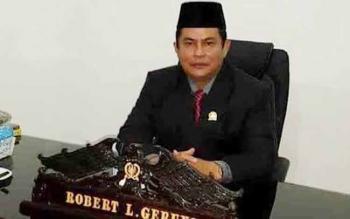 Wakil Ketua I DPRD Kabupaten Kapuas, Robert L Gerung.