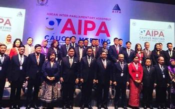 Indonesia jadi tuan rumah Asean Inter-Parlementary Assembly (AIPA) Caucus Meeting. Sebanyak 10 negara turut hadir dalam sidang ke 9 AIPA Caucus Meeting ini.