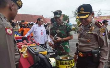 Polres Barito Selatan Gelar Personil dan Sarpras Penanggulangan Bencana