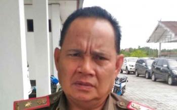 Kepala Satpol PP Kabupaten Gunung Mas, Edwin Yustian