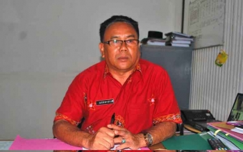 Kepala Disbudparpora Barito Utara, H Arbaidi