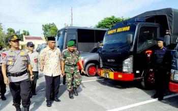 200 Personel Disiagakan Hadapi Bencana Banjir