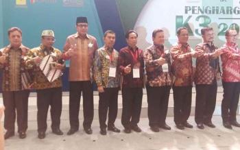 Gubernur Kalteng Masuk 17 Kepala Daerah Penerima K3 Award