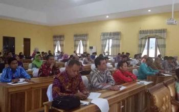 FGD yang digelar Badan Pusat Statistik (BPS) Sukamara.
