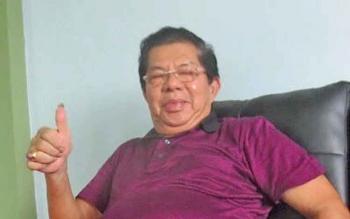 Zain Alkim, anggota DPRD Kalteng, tersangka kasus dugaan penjualan aset sitaan negara.