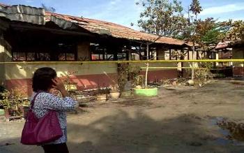 Kapolres Palangka Raya Tegaskan Polisi Masih Selidiki Penyebab SD Terbakar