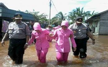 Belum Ada Korban Akibat Banjir di Katingan