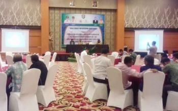 Halal bi halal dan gathering badan usaha Kadin dan BPJS serta mitranya, Selasa (25/7/2017)