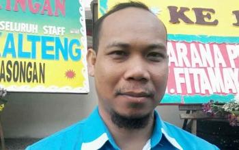 Ketua KNPI Kabupaten Katingan, Edy Ruswandi