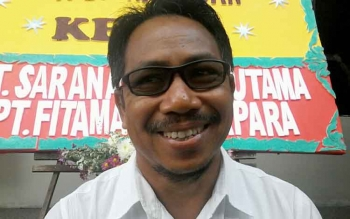 Ketua KPU Kabupaten Katingan, Sapta Tjita.