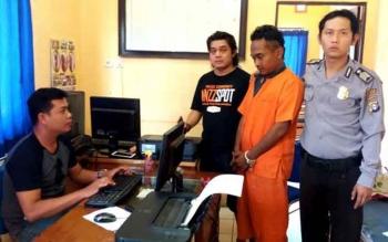 Anggota Polsek Dusun Selatan Ringkus Pelaku Penggelapan Mobil di Banjarmasin