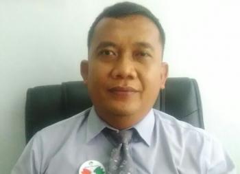 Pimpinan Bank Kalteng Cabang Kuala Kurun, Kabupaten Gunung Mas, Empas S Umar.