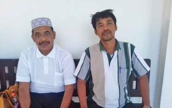 Anang Janggai (pakai peci) dan Richard William