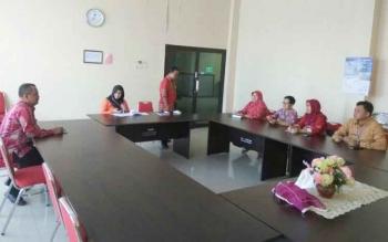 KPA Provinsi Kalimantan Tengah daat melakukan seupervisi ke KPA Kabupaten Kobar.