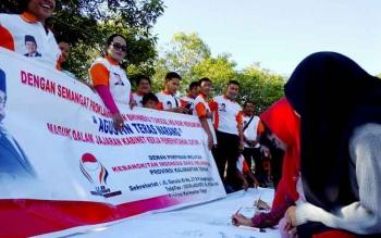 Relawan Jokowi Dukung Mantan Gubernur Masuk Jajaran Kabinet Kerja