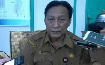 Kepala Dinas Kesehatan Kabupaten Katingan dr Robertus Pamuriyanto.