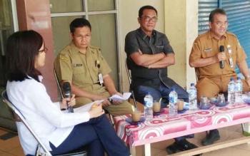 Ketua DPRD Palangka Raya Sesali Minimnya Pedagang di Pasar Datah Manuah