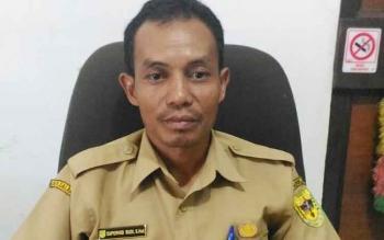 Kepala Bidang Politik dan Kemasyarakatan Badan Kesatuan Bangsa dan Politik Kabupaten Gunung Mas Supervisi Budi.