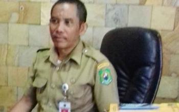 Kepala Disperindagkop Kapuas H Suparman