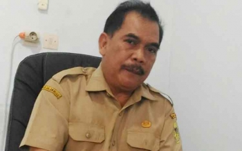 Kepala DPMPTSP Kabupaten Gunung Mas, Aga Handuran