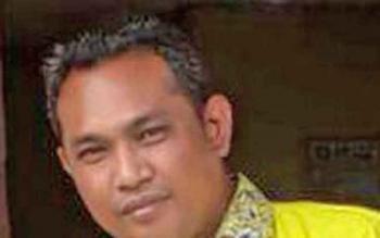 Ketua Media Penggalan Opini DPD Partai Golkar Kotim, Didi Syahwani.