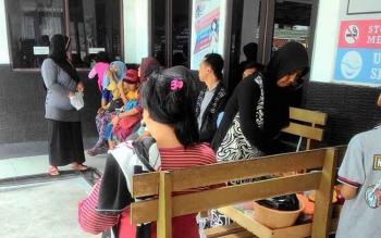 Apotek di Puskesmas Kayon, Jalan Rajawali, Kota Palangka Raya.