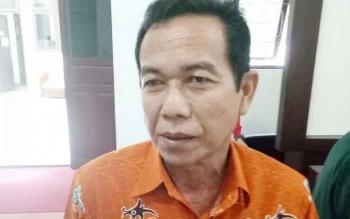 Kepala BPBD Kabupaten Gunung Mas Muhammad Rusdi.