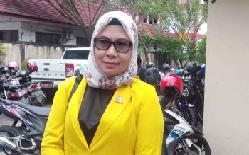Hj Darmawati, Anggota Komisi IV DPRD Kotim.