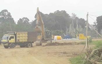 Warga Katingan Tengah Sambut Gembira Pembangunan Jembatan Tumbang Samba
