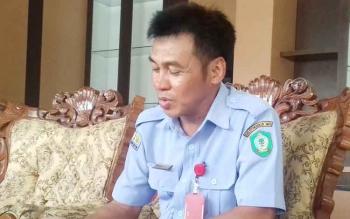 Direktur PDAM Dharma Tirta Kotim, Firdaus Herman Ranggan.