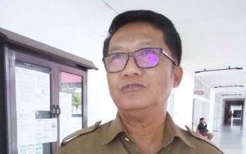 Kepala Dinas Koperasi dan Usaha Kecil Mikro dan Menengah (KUMKM) Kalteng, Sapto Nugroho