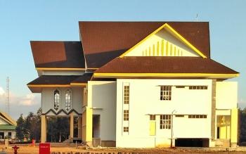 Kantor Sekretariat Daerah Kabupaten Pulang Pisau hingga saat ini belum punya pimpinan definitif.