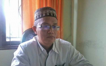 Kepala Penyelenggara Haji Kementerian Agama Kabupaten Katingan, Taufikurahman, Senin (7/8/2017).BORNEONEWS/ABDUL GOFUR